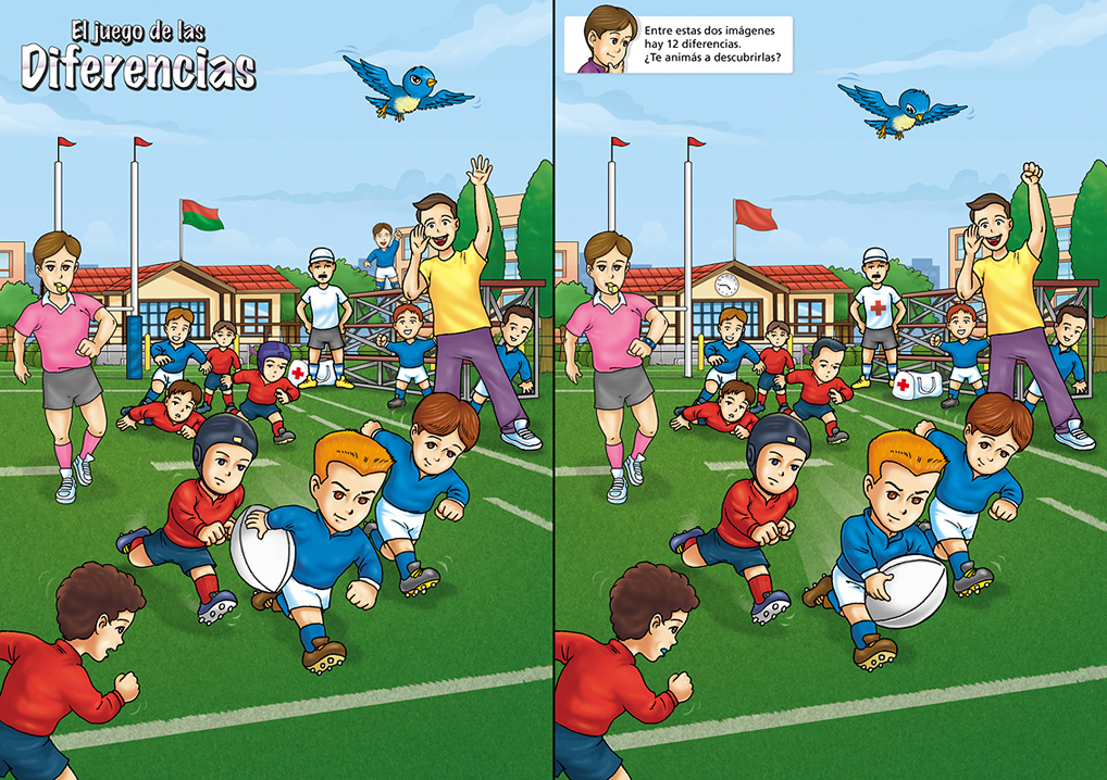 BA Rugby (magazine) /Children Entertainment