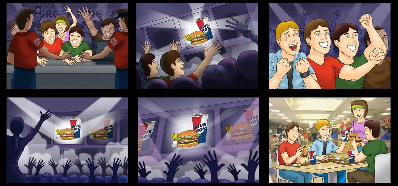 Client: Burger King / Agency: David Buenos Aires