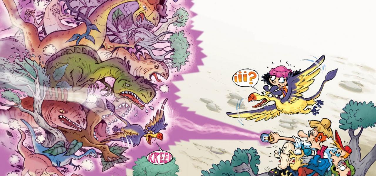 "Digital Colour for Book ""La Pandilla Clik"" / Illustration: Oscar Fernández (Ferni)"