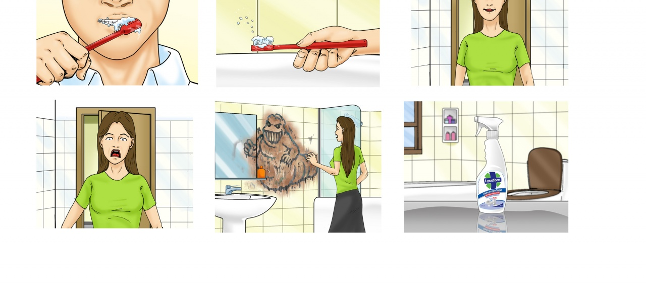 Lysoform / Storyboard for TV Ad / Agency: FCB Buenos Aires