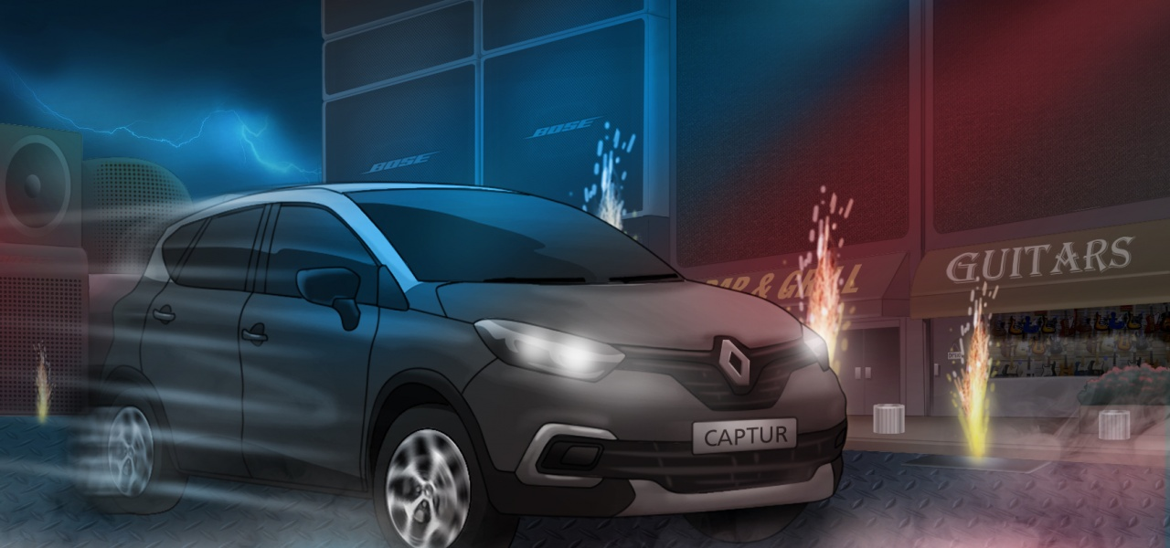 Client: Renault / Concept for Print Ad / Agency: Publicis Buenos Aires